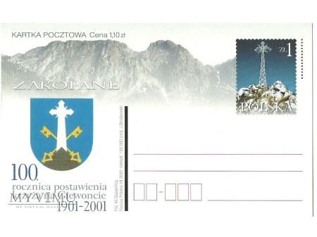 Duże zdjęcie Krzyż na Giewoncie.