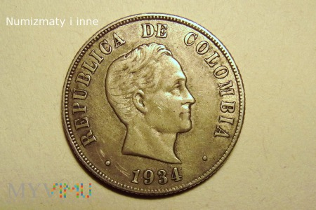 50 centavos Kolumbia