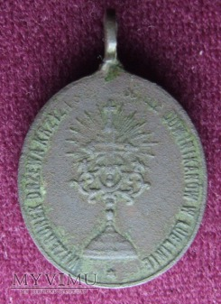 Stary medalik z Lublina