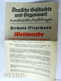 Das Deutsche Land und die Deutsche Geschichte 1934