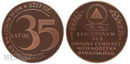 35 lat OC Województwa Bydgoskiego medal 1986