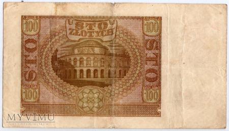01.03.1940 - 100 Złotych