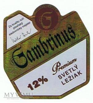 gambrinus premium světlý ležiak