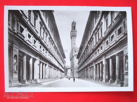 Florencja - Uffizi i Palazzo Vecchio