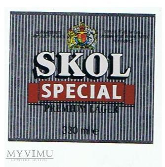 skol special premium lager