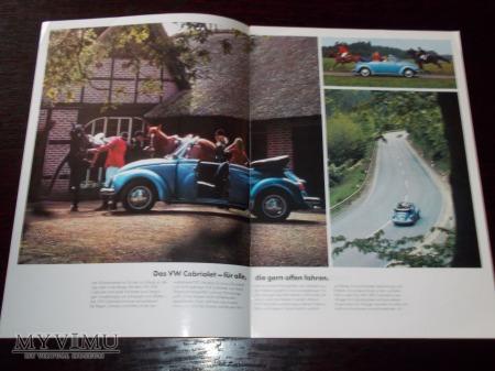 Prospekt VW 1303 CABRIOLET