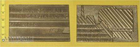 Medal kolejowy budowy LHS