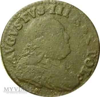 August III szeląg 1751 rok