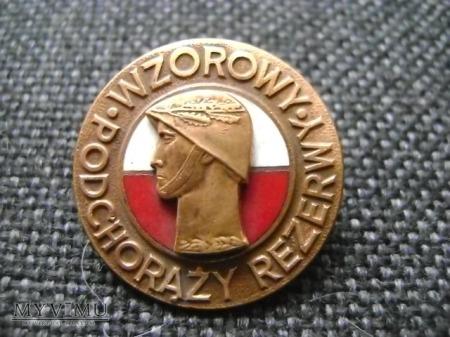 odznaka Wzorowy Podchorąży Rezerwy brązowa