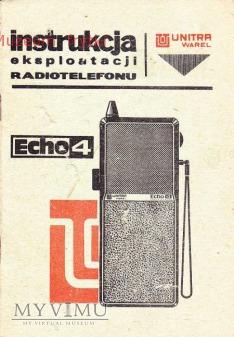 INSTRUKCJA RADIOTELEFONU ECHO-4
