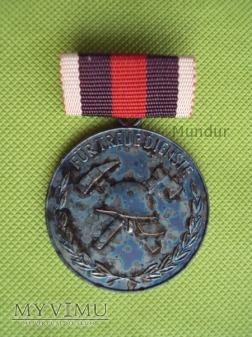 Medal srebrny Feuerwehr: für treue Dienste