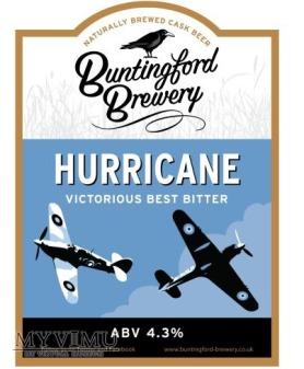 buntingford brewery - hurricane