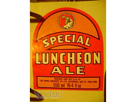 LUNCHEON ALE