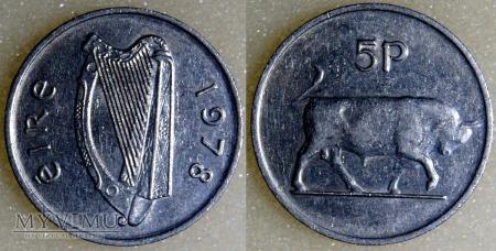 Irlandia, 5 Pingin 1978