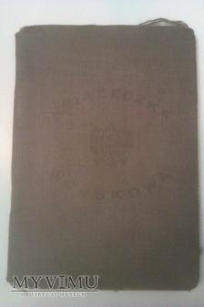 Książeczka Wojskowa 53 Pułk Piechoty