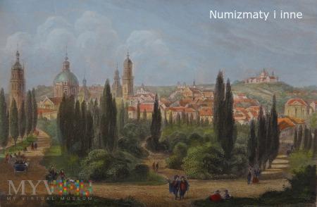 Lwów staloryt XIX w.