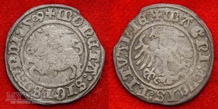 1509, półgrosz litewski