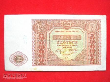 10 złotych 1946 rok