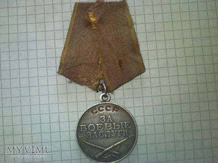 medal za bojowe zaslugi