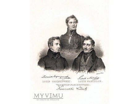 Litografia - Orpiszewski, Nabielak, Nasierowski.