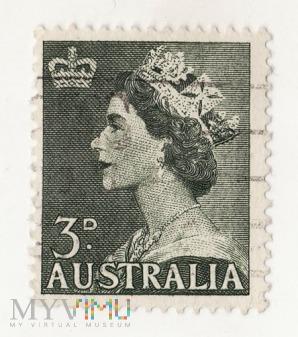 Australia - królowa Elżbieta II 1953
