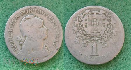 Portugalia, 1 ESCUDO 1927