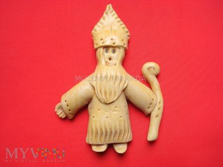 Duże zdjęcie Figurka Świętego Mikołaja / Czechy