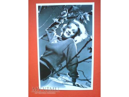 Marlene Dietrich Pocztówka Chiny 2011 n.11