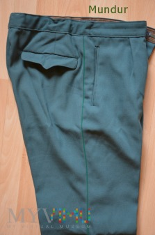 MdI: spodnie Volkspolizei z lamówką