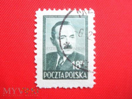 Ciemnoszarozielony Bolesław Bierut