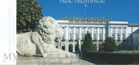 Warszawa - Pałac prezydencki