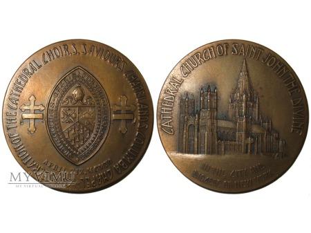 Katedra Św. Jana w Nowym Jorku medal 1911