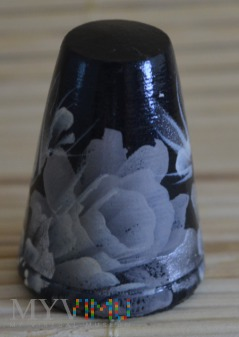 Naparstek z serii kwiaty