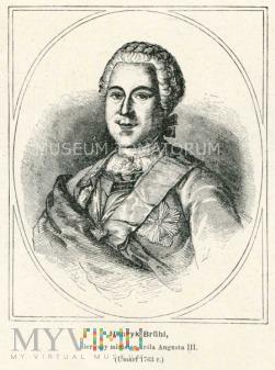 Duże zdjęcie Bruhl Henryk - faworyt Augusta III
