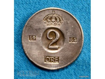 2 öre-Szwecja 1964