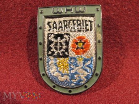 SAARGEBIET- herby okręgów granicznych- odznaka WHW