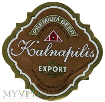 Kalnapilis Export