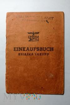 Książka zakupu wyrobów tytoniowych 1941 rok
