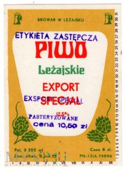 PIWO LEŻAJSKIE EXPORT SPECIAL