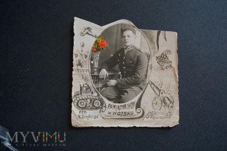 Pamiątka Służby w Wojsku - 1937