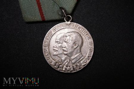 Medal ZSRR - Partyzant Wojny Ojczyźnianej I klasy