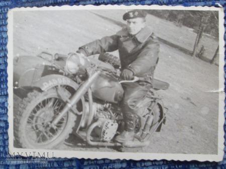 DRAWSKO POMORSKIE 1962-MOTOCYKL M 72.