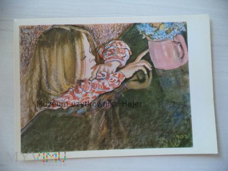 Duże zdjęcie Wyspiański Stanisław Dziewczynka z dzbankiem