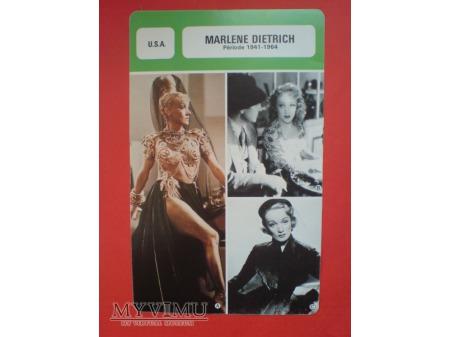 Duże zdjęcie Marlene Dietrich Les Fiches de Monsieur Cinéma