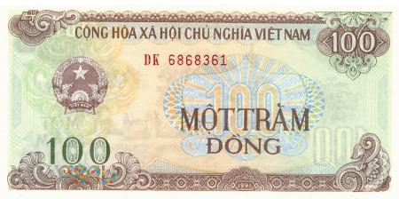 Wietnam - 100 dongów (1991)