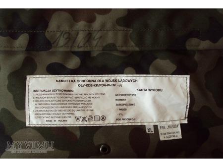 Kamizelka ochronna OLV dla wojsk lądowych