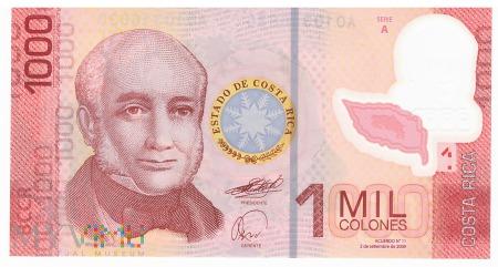 Kostaryka - 1 000 colonów (2009)