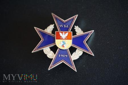 Pamiątkowa odznaka WKU BIAŁYSTOK Nr:009