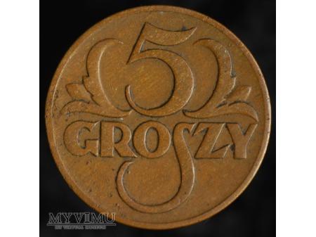 5 groszy 1934