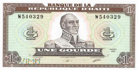 Haiti - 1 gourde (1989)